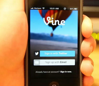 Twitter Vine app 1.1 features