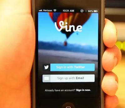 Twitter Vine 1.1 features