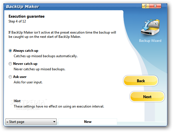 BackUp-Maker execution