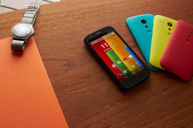 Motorola Moto G UI