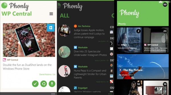 an alterative to feedly for windows phone users