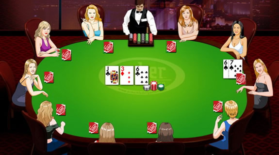 how to play poker with friends online