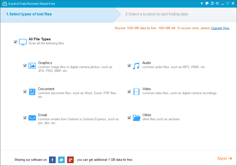easeus-data-recovery-home-screen
