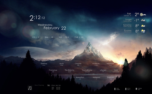 shield skin for rainmeter