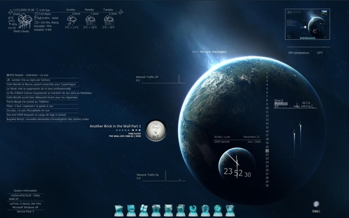 blue-dream-rainmeter-skin