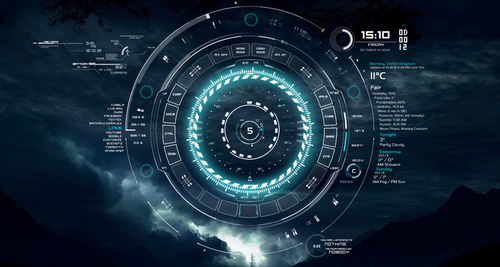 tech-neon-rainmeter-skin