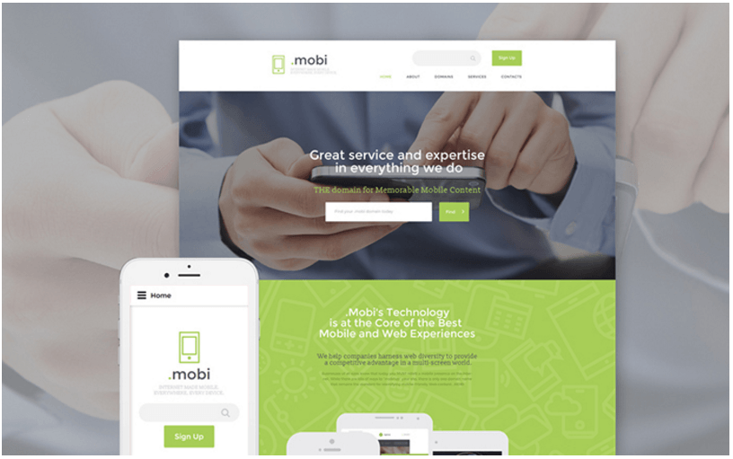 domain-services-website-template